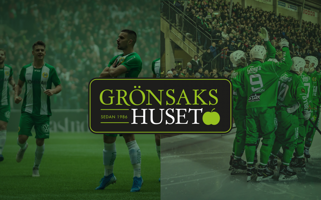 Grönsakshuset ny huvudpartner till Hammarby Fotboll och Hammarby Bandy
